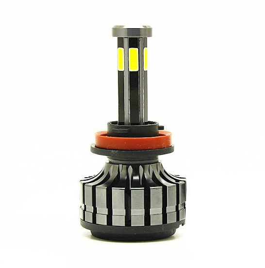 shipping 50 sets 6 sides <strong>COB</strong> 55W H7 H4 9004 9007 <strong>Led</strong> Car <strong>Headlights</strong> 360 degree H8 H11 HB3 9005 HB4 9006 H13 Automotive light