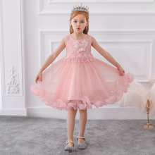 Online-Shopping Kinder Kleidung Kids Kittel Designs Bilder Baby Party Tragen L5101