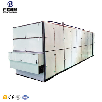 Continuous industrial mesh belt drying machine onion/mushroom mesh belt dryer equipment