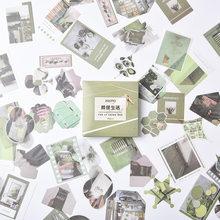 80 шт./компл. винтажные наклейки журнал декоративные записываемая бумага Скрапбукинг палка этикетка канцелярские наклейки для дневника, аль...(Китай)