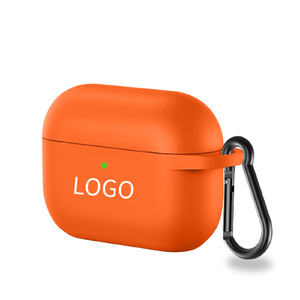 2020 Wholesale Price Various Colors Portable Wireless Earbuds Cover Case For Airpods Pro Silicone Case