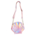 Rainbow Crossbody Bag Metallic Bag Holographic Laser Sea Shell Chain Messenger Bags Women