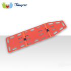 Emergency First Aid Equipment Low Price Spine Board Stretcher, Plastic Stretcher