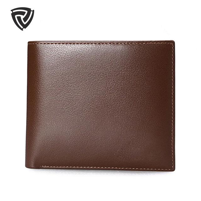 Mens carteira de couro genuíno grão cheio macio para viagens de luxo personalizado genuíno carteira de couro dos homens