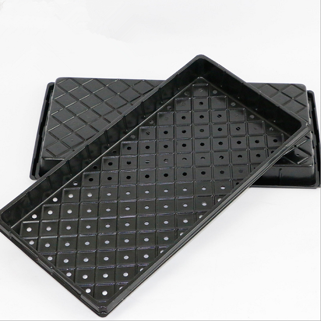 hot sale seed Starter plant germination strong seedling flat 1020 trays seed tray