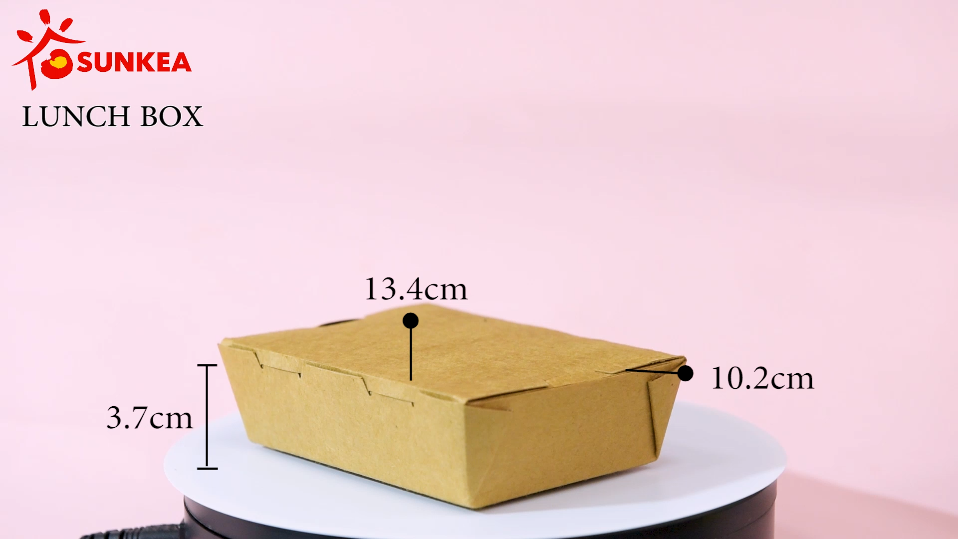 Disposable custom chinese paper take away fried food box