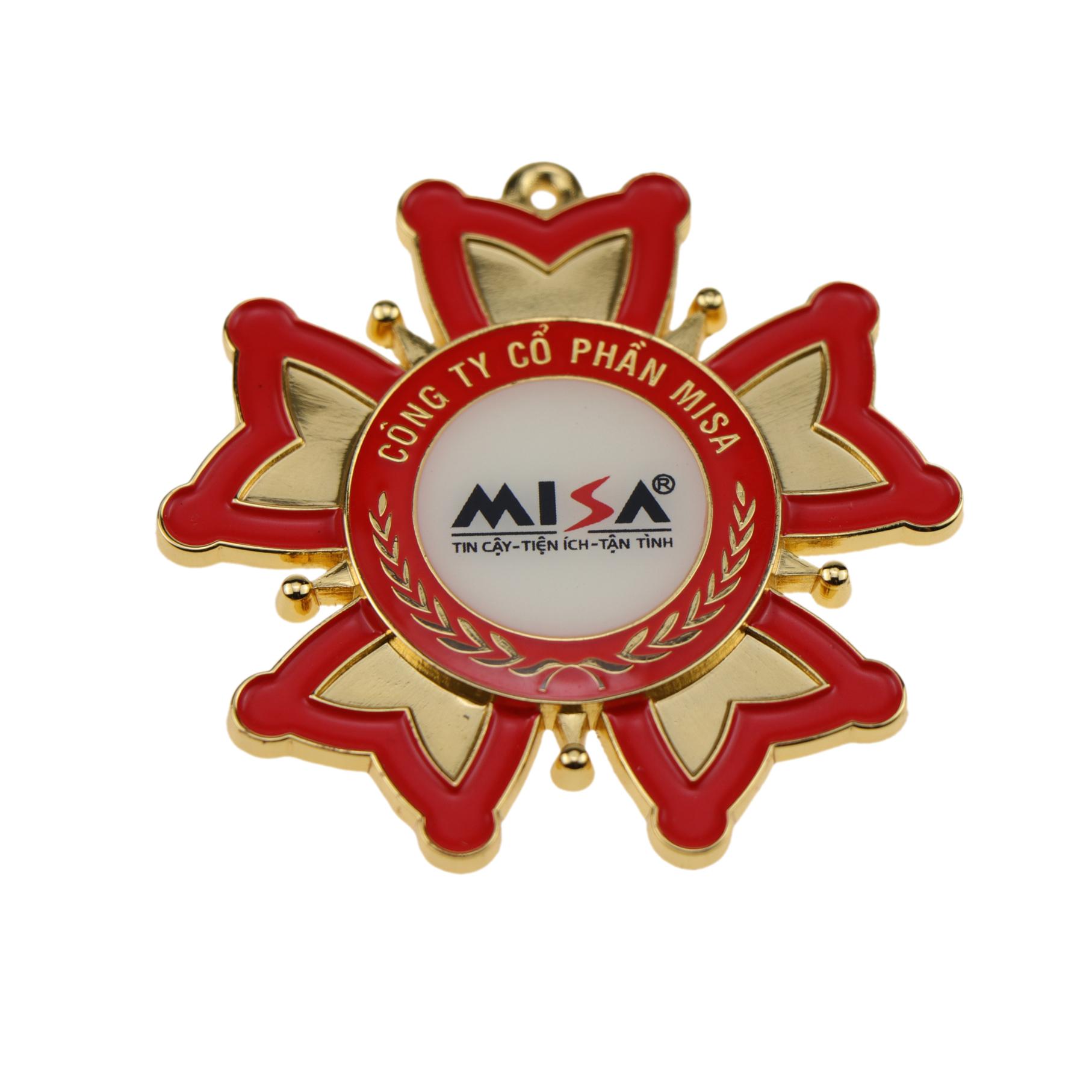 Custom 3D โลหะ badge of honor สำหรับของที่ระลึก