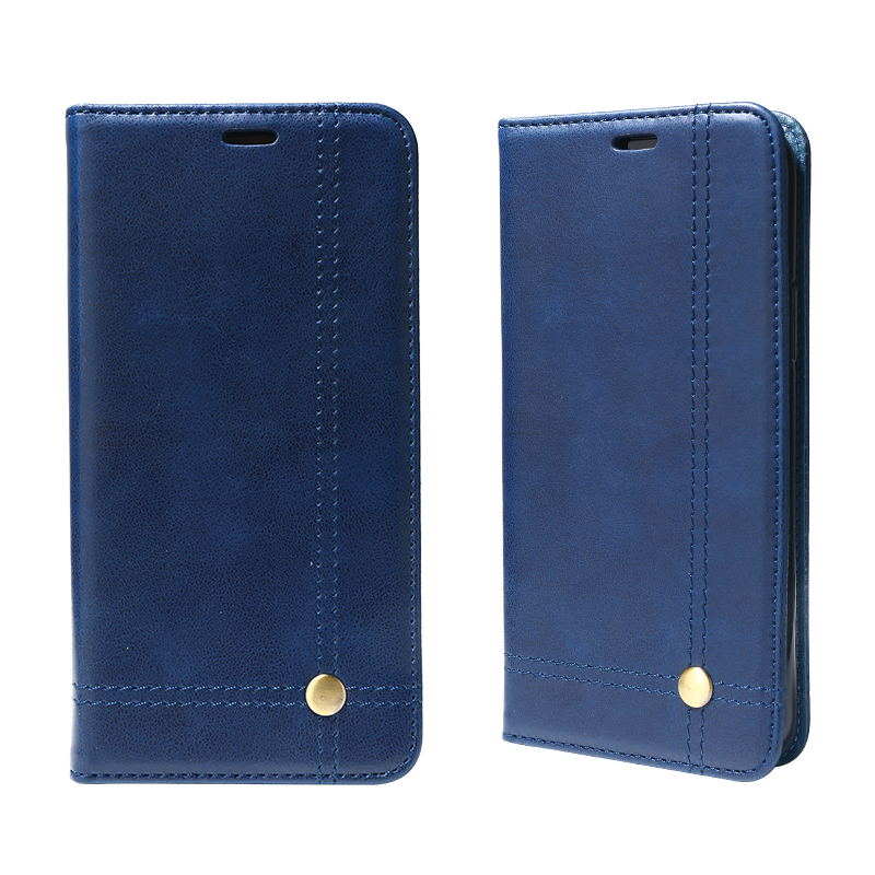 Factiory Preis Luxury Business Stil Premium PU Handy leder Fall Mit Starken Magnet Ans Credi Karte Slot