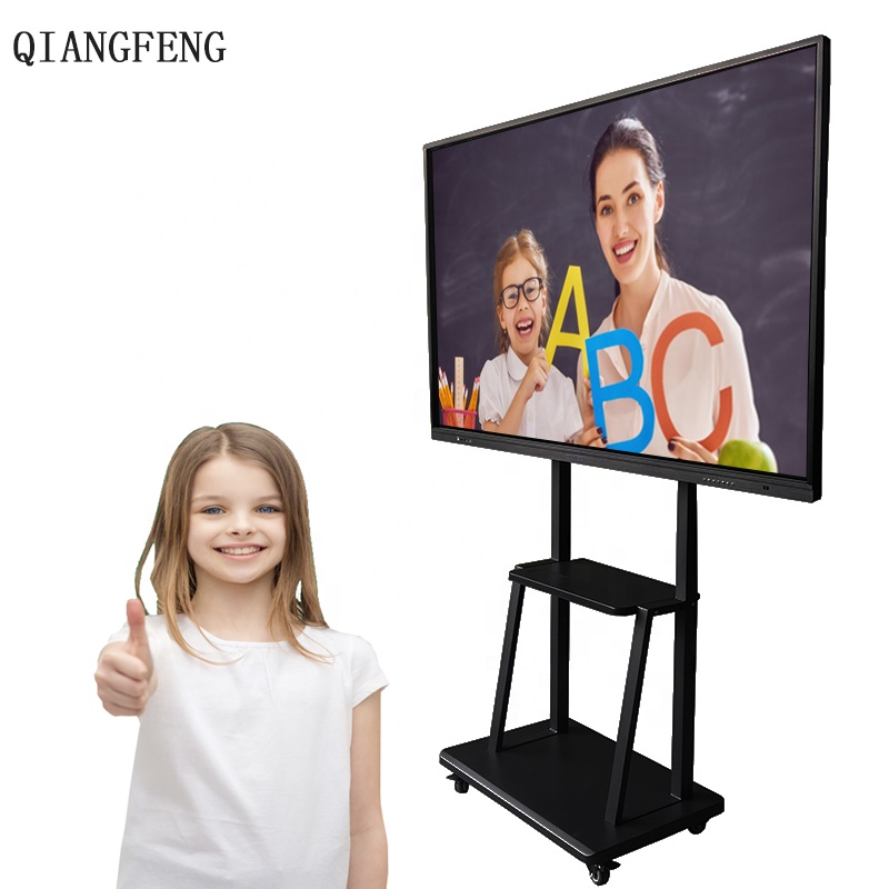 85 inch iboard draagbare vinger touch interactieve whiteboard tv touch screen whiteboard alles in een pc