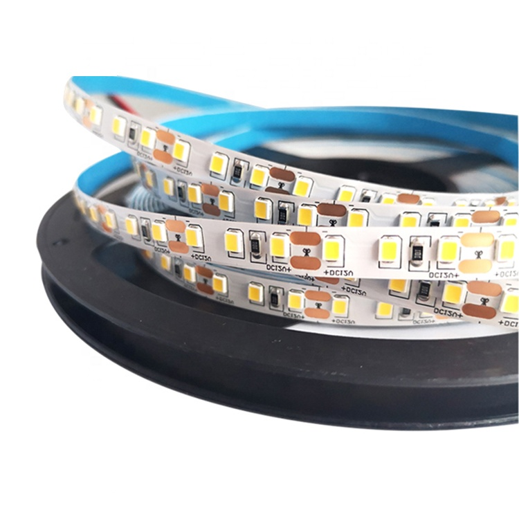 cheap high efficiency DC12V low voltage SMD2835 120LED per meter LED strip light