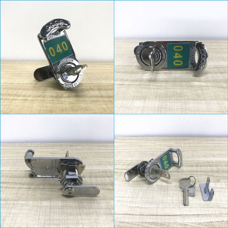Good Quality Heavy Duty HPL Locker Cabinet Mechanical Key Lock