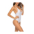 One Piece Swimsuit for Women Self Tie Cross Back High Cut Swimsuit Women Sexy Monokini Bikinis Prefect for Beach Vacation