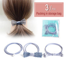 17 км мультяшная сумка, Детские эластичные резинки для волос для девочек, детские резинки, аксессуары для волос, повязка на голову, 2020(Китай)