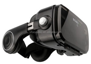 Virtual Reality goggles 3D glasses, vr headset with headphone