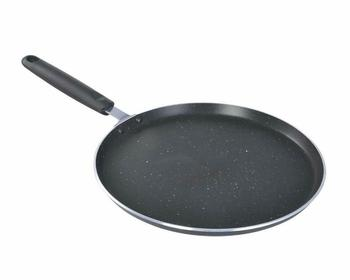 Eco-healthy non-stick cookware with silicone handles