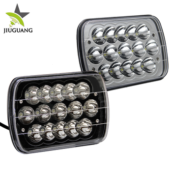 DC9-32V 6500K high low beam 45w 7x6inch LED car headlights , 5x7inch led headlight
