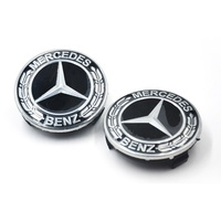 Mercedes wheel hub cover new C-class E-class S-class GLC rye wheel cover for Mercedes-Benz standard 75mm tire standard