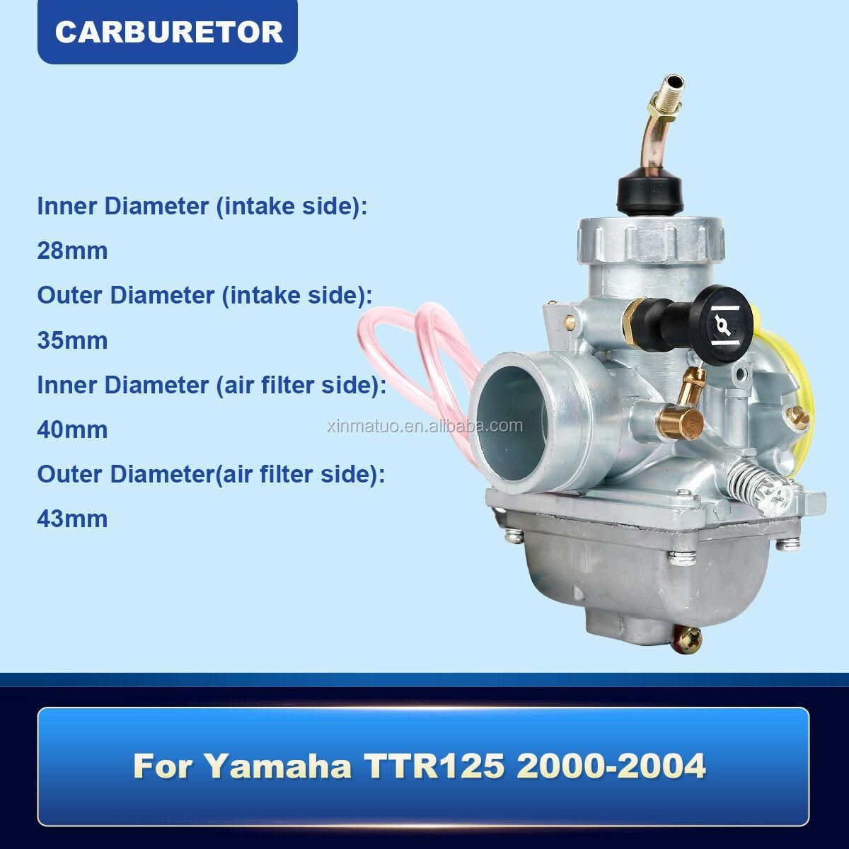 CARBURETOR YAMAHA TTR125 TTR 125 CARB 2000-2004