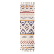 Ковер для спальни, прямоугольный хлопковый и льняной коврик ручной работы с кисточками, винтажный гобелен в этническом стиле, коврик для вх...(Китай)