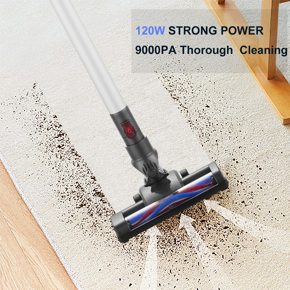 Hot sales Upright   Stick Wireless Handheld Vacuum Cleaner with Super Suction Power
