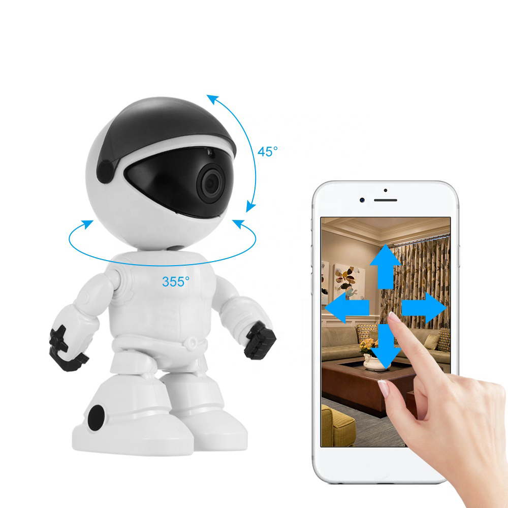 1080P Cloud Home Security Robot Intelligent Auto Tracking Camera Wireless Wifi CCTV Camera Surveillance Camera