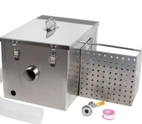 Handgemachte und anpassbare Fett falle Öl Wasser Separator für Küche Kochen Wasser behandlung
