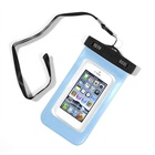 Durable waterproof pvc mobile phone pouch bag