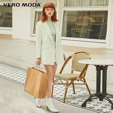 Новый женский двубортный пиджак с отворотом в форме H в стиле Ins Vero Moda | 319308590(Китай)