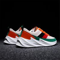 2019 Hot Men Casual Shoes Breathable Shoes Male Flat Sneakers Air Cushion Leisure Shoes Ankle Trainers Zapatos De Hombre