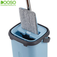 High quality household cleaning tools wholesale strong cleaning ability flat mop and bucket set