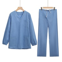 Hospital Uniform Scurb suit for docter and nurse custom logo OEM services