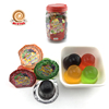 Jar packing fat free Halal small fruity jelly cup