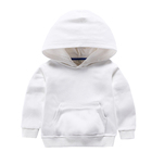 Plain Toddler Wholesale Wholesale 100% Cotton Cotton Plain Toddler Custom Boy's Sweater Baby Hoodies