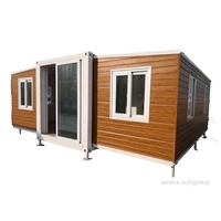 20FT 40FT Australian standard granny flat folding expanding container house 2 bedroom prefabricated container home