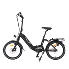 Electric Rundo 20 Inch Folding 36v 104ah Electric Bike Li Ion Battery Ebike For Sale
