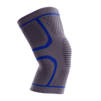 Manufacturer breathable knitted sleeve knee support athletics sport knee pads