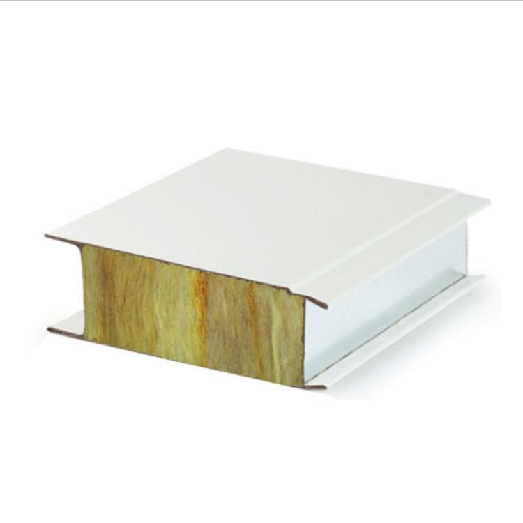 High quality cheap fire rated colored rock wool sandwich panel