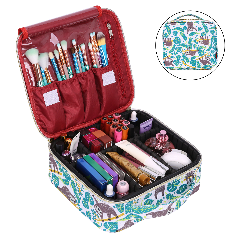 Lokass Cosmetic Bag Lazy Travel Makeup Bag Pattern Make Up ...