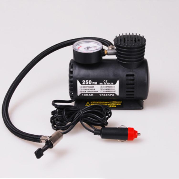 12Vmini Portable Car Air Pump Air Compressor