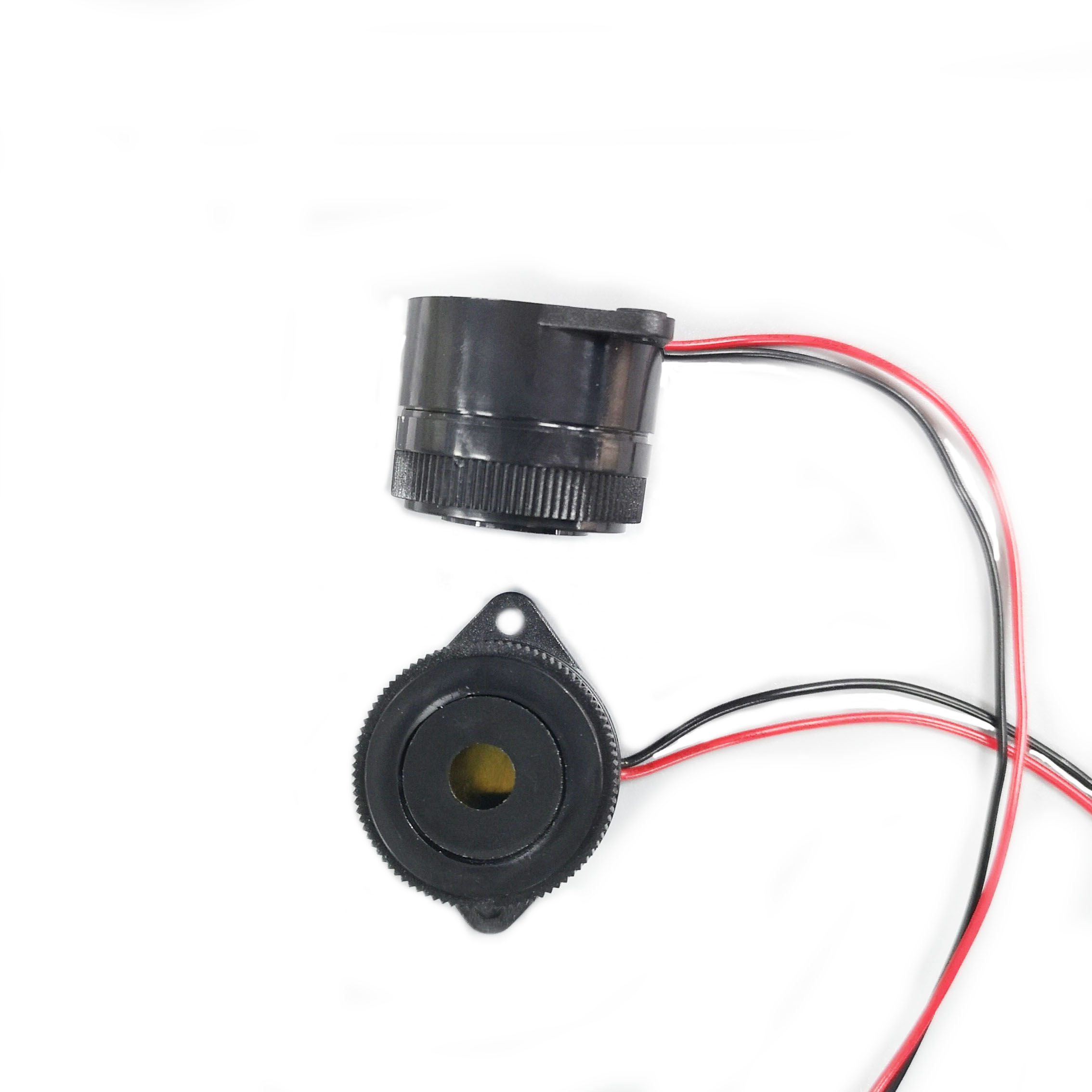 29.5*24.5mm 12V long sound intermittent active piezo lead buzzer Continuous tone 3.7KHz buzzer