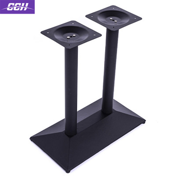 Modern Restaurant Table Base Cast Iron Steel Coffee Bar Leg Dining Height Basket Adjule Column Columns