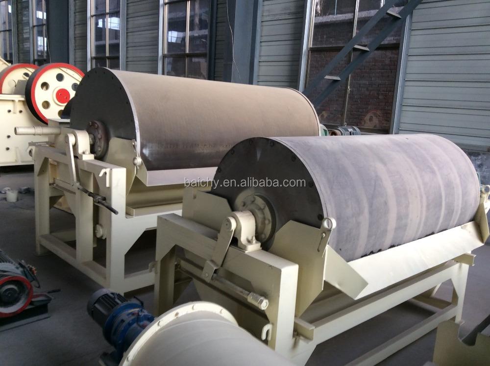 Wet iron ore/sand dry magnetic separator price
