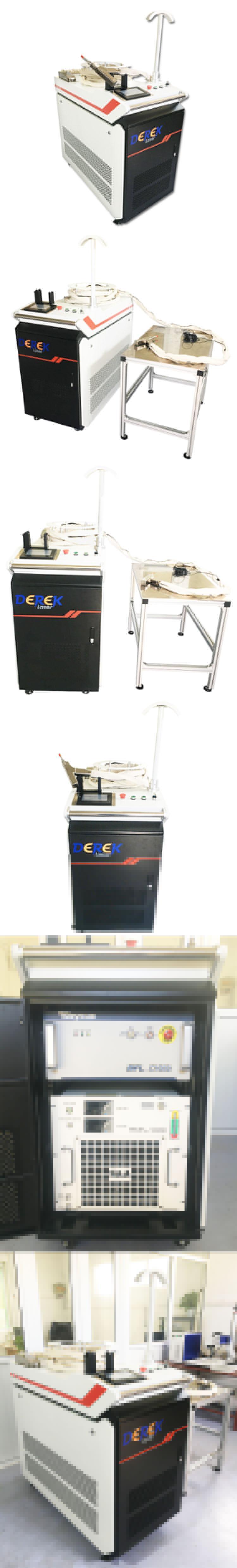 500W 750W 1000W มือถือลวด Feeding เลเซอร์เครื่องเชื่อมสแตนเลสแม่พิมพ์โลหะเชื่อม