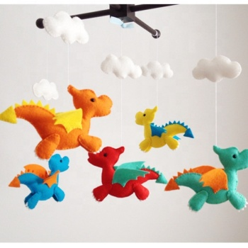 Nursery Elephant Giraffe Mobile