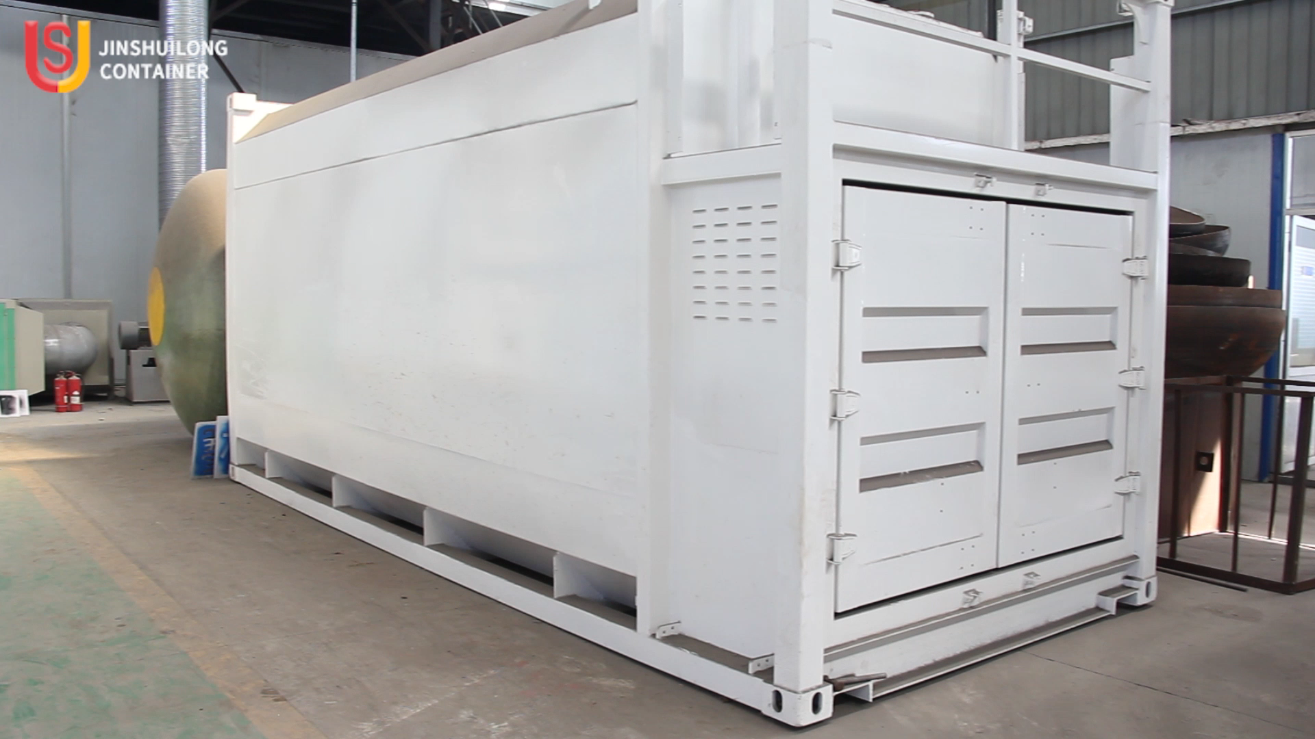 20ft Mobile filling containerized fuel station with fuel dispenser