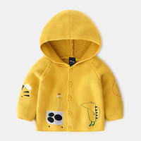 Wholesale latest fashion cute Cardigan sweater sweater coat for boys children kids baby