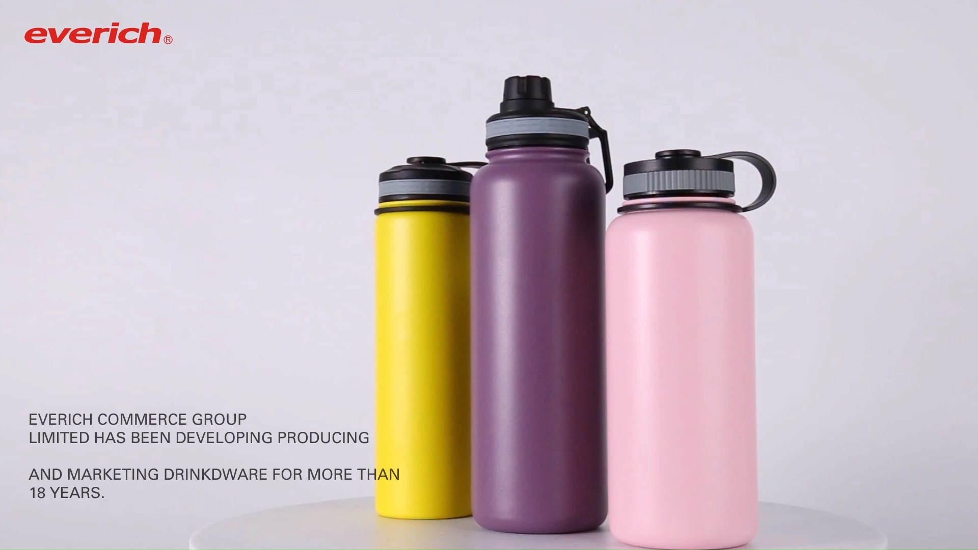 Bottiglie di acqua in acciaio inox bottiglie di acqua sport hydro in acciaio bottiglia di acqua boccetta 18oz 32 once 64oz