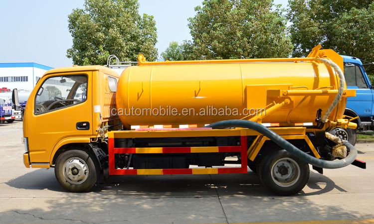 Gloednieuwe Zuig Riolering Vacuüm Vrachtwagens JAC voor Verkoop