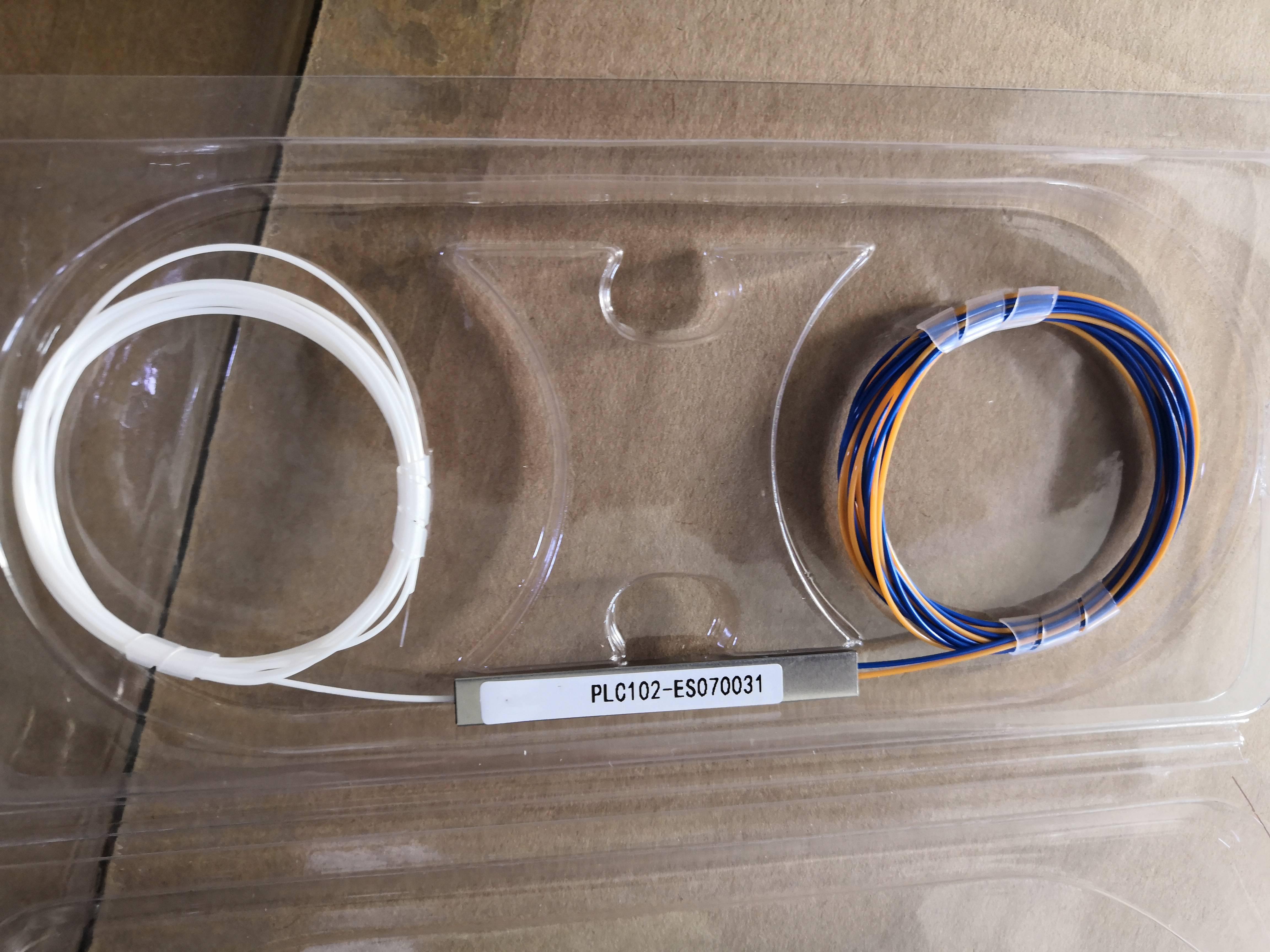 1*2 1*4 1*8 1*16 1*32 micro mini fiber optic PLC splitter