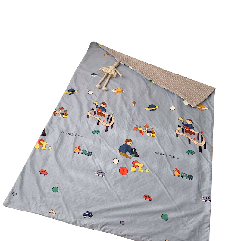 شعبية بطانية أطفال من القطن رخيصة أغطية من المنك المطبوعة للبيع